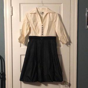 Kay Unger 100% Silk cocktail dress